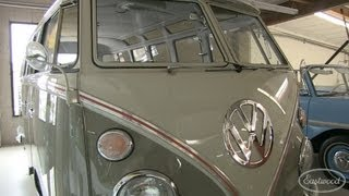 23 Window 1963 Deluxe Sunroof VW Transporter Bus - $200K at Barrett Jackson Auction - Eastwood