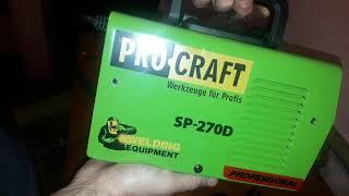 Gambar cover Сварочный инвертор Procraft SP-270 D