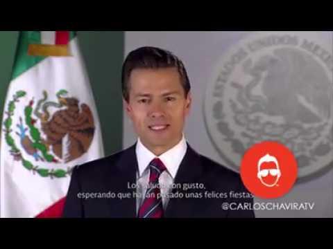 Mensaje Enrique Peña ¡¡¡Noooo Ni Mergas!!!