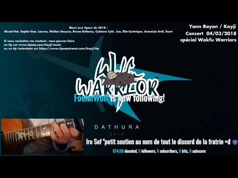 Concert de Yann Rayon/Kayji spécial Wakfu Warriors