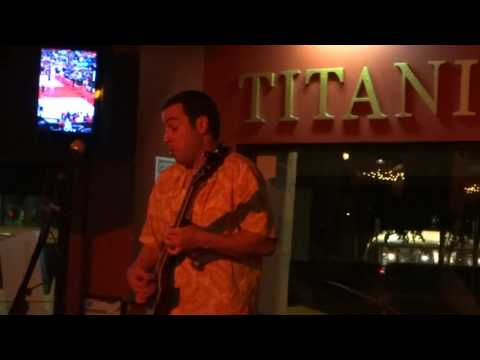 Albert Castiglia @ Titanic Brewery - 5-21-2016 - Drowning At The Bottom