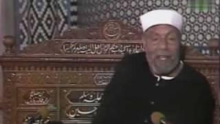 الشيخ الشعراوى يحكى قصة خلق السماء والارض فى ستة ايام