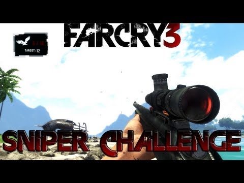 Far Cry 3 - Sniper Challenge Gameplay