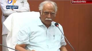 Ashok Gajapathi Raju Vents Anger On Officials   For Delaying Works   Vizianagaram