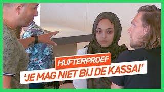 Frietboer wil meisje geen baan geven vanwege hoofddoekje | HUFTERPROEF | NPO 3 Extra