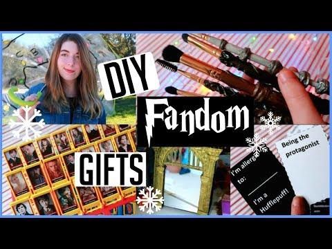 EASY DIY Fandom gifts!! (Birthdays, Christmas, holidays ect.)