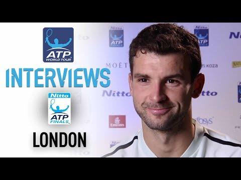 Dimitrov Discusses Win Over Goffin Nitto ATP Finals 2017