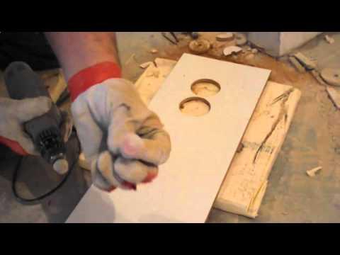 Как сделать отверстие в керамической плитке