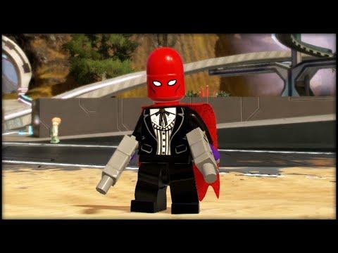 LEGO Marvel Superheroes 2 Creating Red Hood & Nightwing! Customs!