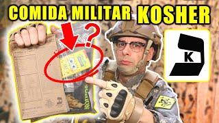 Probando COMIDA MILITAR KOSHER para JUDÍOS de ESTADOS UNIDOS   MRE US KOSHER   Curiosidades con Mike