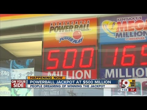 Powerball jackpot at $500 million