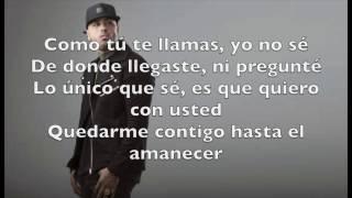 Hasta el amanecer  Lyrics