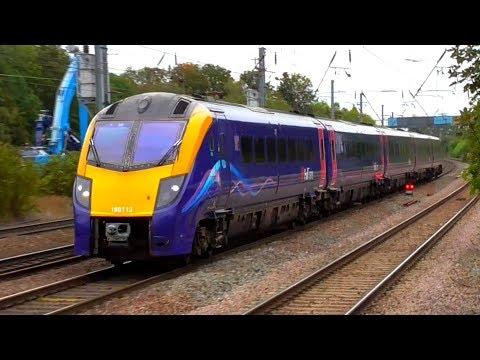 Trains At Hitchin, ECML - 07/10/19