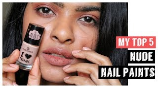My Top 5 Nude Nail paint / Nail Color || Quick Dry Nail-paints 🙏🏼 🙆🏻💅