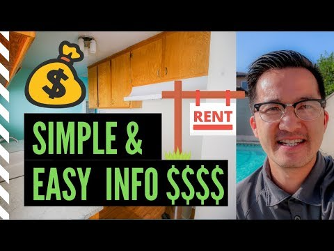 Los Angeles Real Estate  101  Buying Rental Property ?  How much does a home rent for ?