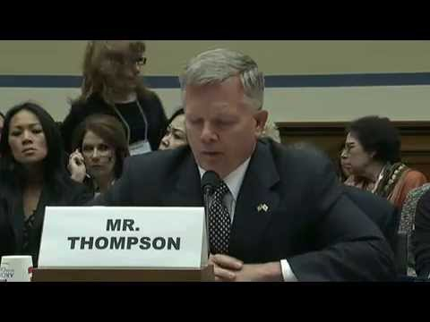 House oversight committee hearing on Benghazi