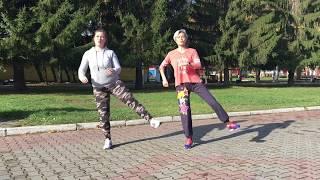 постер к видео Мини - тренировка для людей с большим весом.