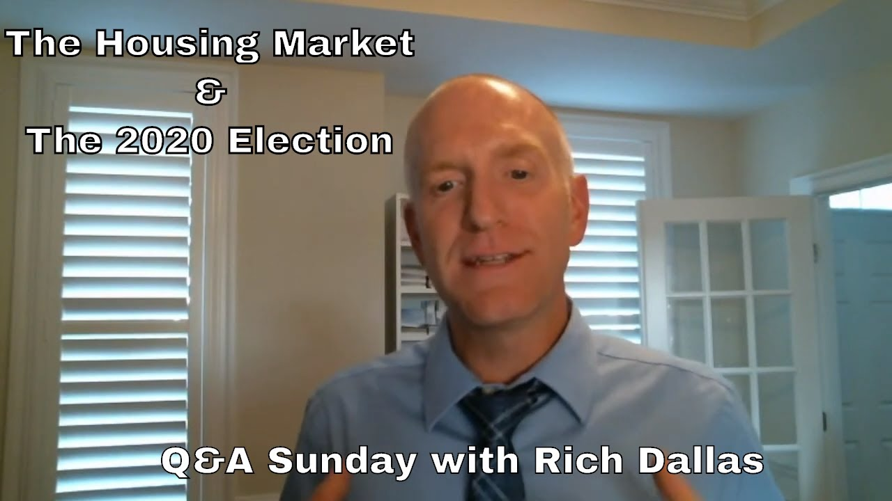 2021 Housing Market Crash?? Understanding the Effect of the 2020 Election
