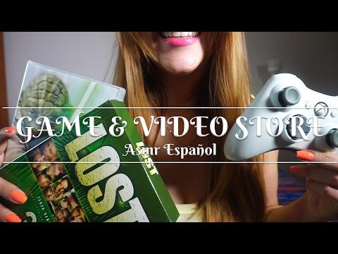 ⭐️ ASMR ESPAÑOL ⭐️❤️ GAMING STORE & VIDEO STORE ❤️TIENDA DE VIDEOJUEGOS Y PELICULAS❤️Sasha helps you
