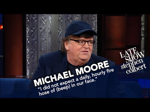 Thumbnail: Michael Moore Calls For An 'Army Of Satire' Against Trump