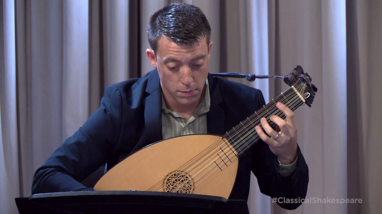 Adam Cockerham Plays 'Allemande' and 'Carman's Whistle' on the Lute