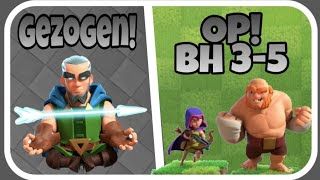 Beste BH 3-5 Angriffstaktik!| Magieschütze gezogen aus lvl 3 CT!| Clash of Clans/Royale Deutsch|