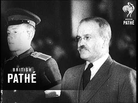 Funeral Of Russia's President Kalinin (1946)