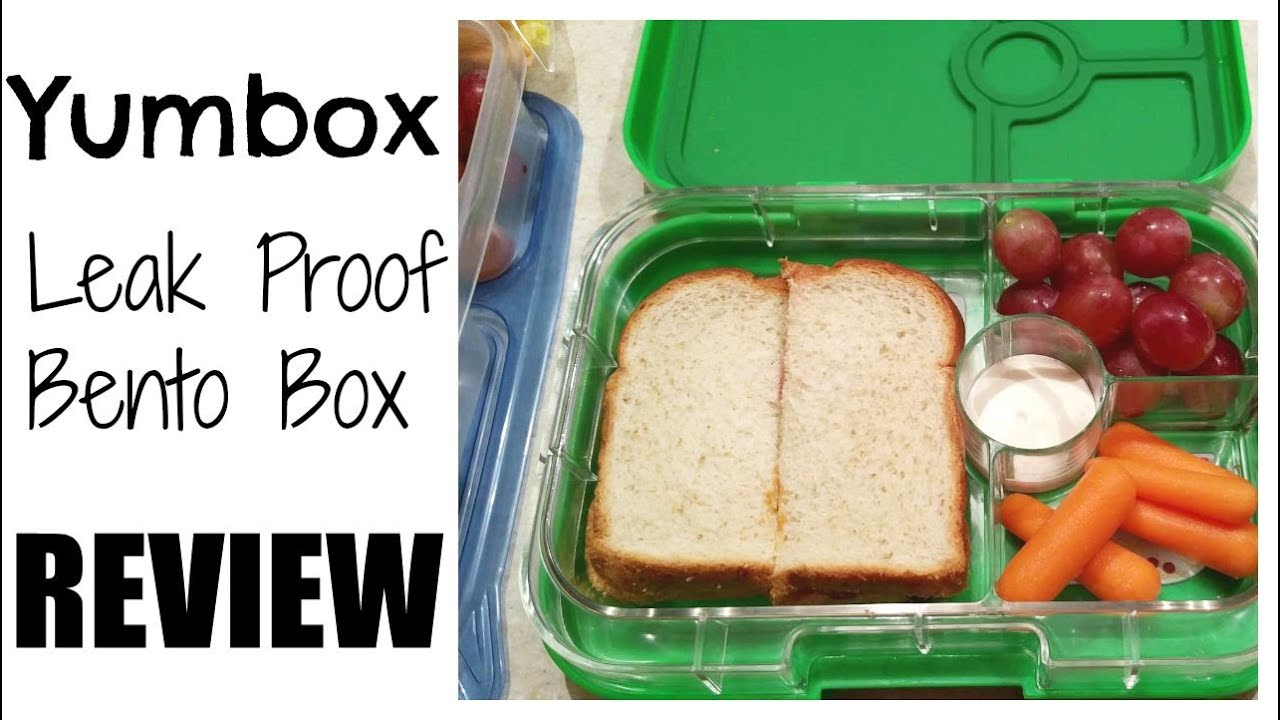 yumbox leak proof bento box review yumbox panino youtube. Black Bedroom Furniture Sets. Home Design Ideas