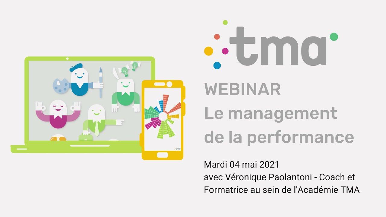 Webinar : Le Management de la Performance