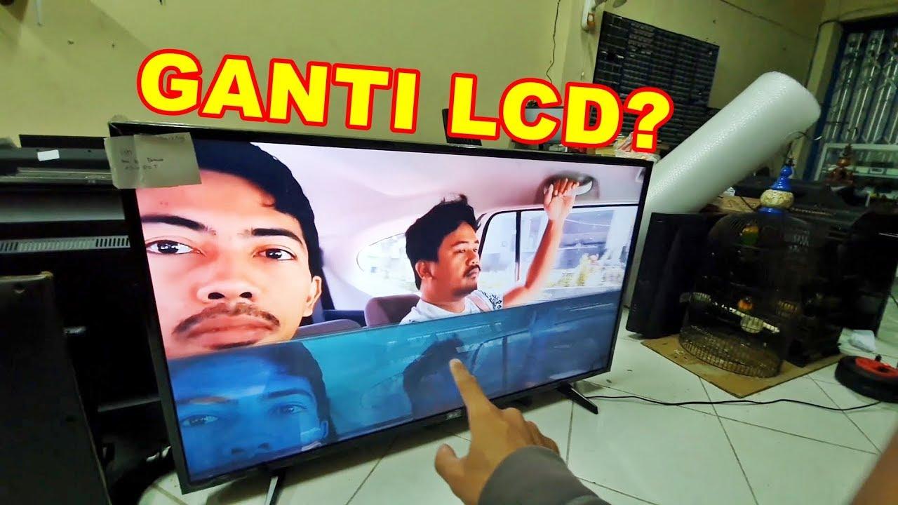 Jangan Dulu Ganti Lcd Tv Led Kalau Rusak Vlog137 Youtube