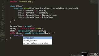 Bài 47: Viết API trả dữ liệu tất cả album