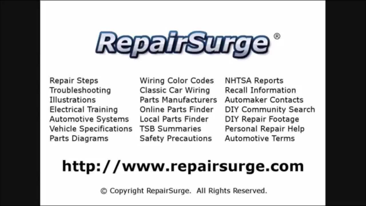Acura Rl Repair Manual With Service Info For 2003 2004 2005 2006 Wiring Diagram 2007 2008 2009 2010