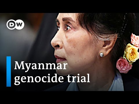 'No genocidal intent': Aung San Suu Kyi makes case for Myanmar at genocide trial | DW News