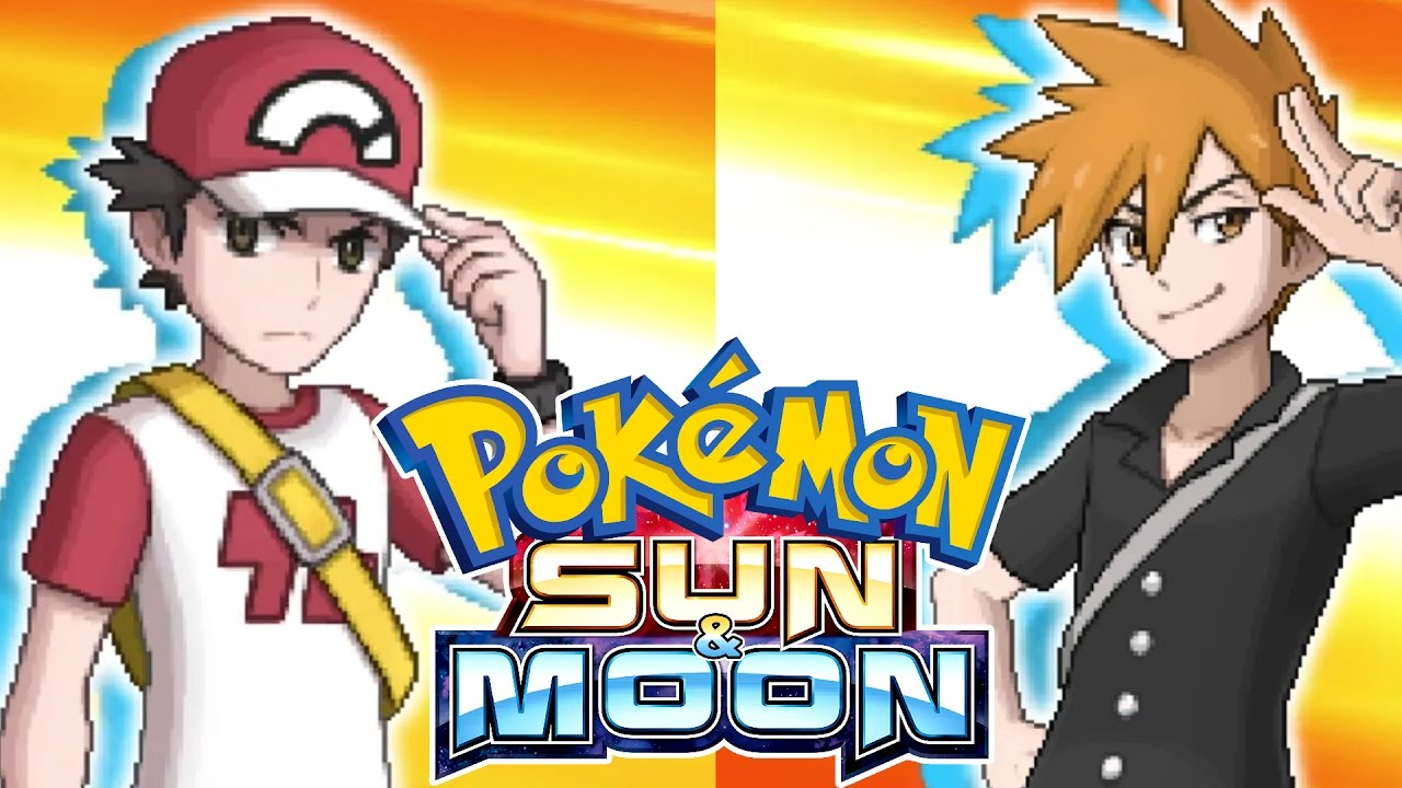 red and blue in sun and moon - photo #6