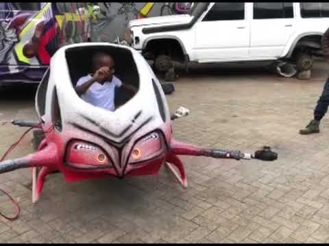 First passenger drone in Africa | Kenya
