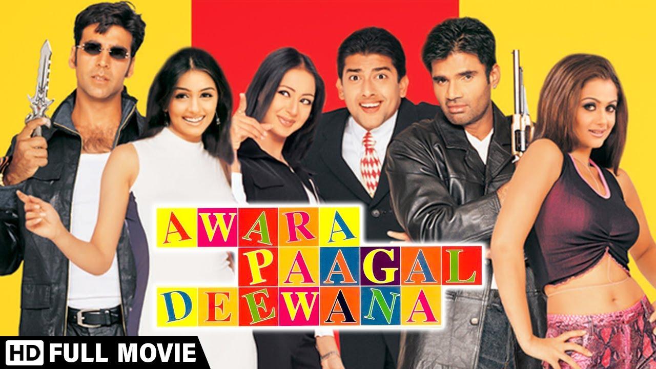 Download Awara Paagal Deewana (2002) Full Movie   Akshay K.   Suniel S.   Aftab S.   Paresh R.   Johnny Lever