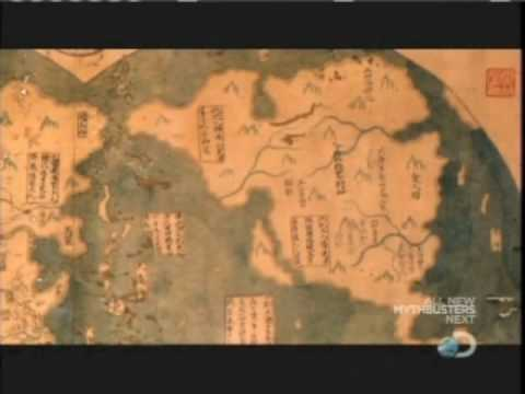 Chinese Map Of America.Weird Or What Did The Chinese Discover America Youtube