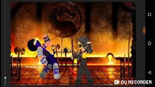 Мортал комбат Саб зиро против Скорпиона противостояние (рисуем мультфильмы 2)