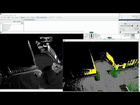 Dibotics Augmented Lidar integrated in RTMaps