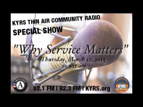 Special Show: AmeriCorps Week 2015