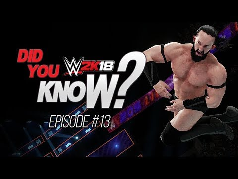 WWE 2K18: Did You Know? Inverted Aerial Finishers, New RKO Outta Nowhere & More! (Episode 13)