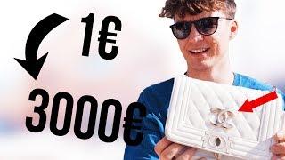 TAUSCH-BATTLE 💸😱 (aus 1 Euro werden 3000 Euro) - LOCHI VS. LOCHI