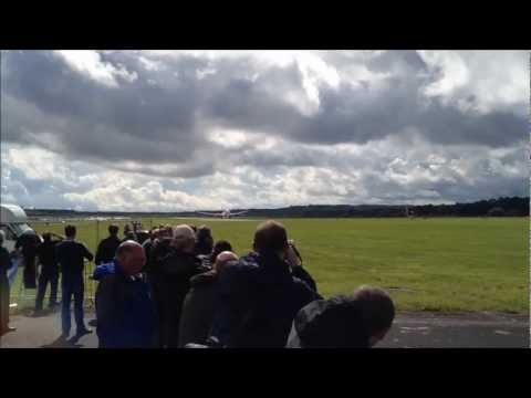Boeing 787 Dreamliner Farnborough Airshow Trade Exhibition 2012 HD