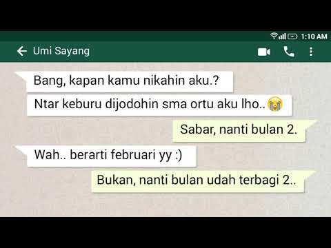 Download Chat Gombal Lucu Video Zw Ytb Lv
