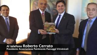 Roberto Cerrato neo Commendatore della Repubblica