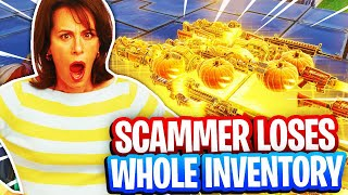 Mom Rages After Scammer Loses Whole Inventory! (Scammer Get Scammed) Fortnite Save The World