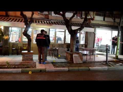Manisa'da Kahvahaneye Silahlı Saldırı