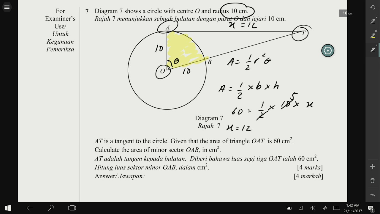 Add maths form 4 circular measurement no 7 negeri sembilan 2017 add maths form 4 circular measurement no 7 negeri sembilan 2017 paper 1 ccuart Images