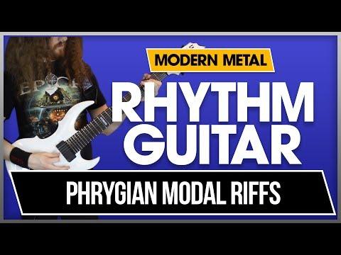 Complex Phrygian Riff - Modern Metal Rhythm Guitar, Lesson 3