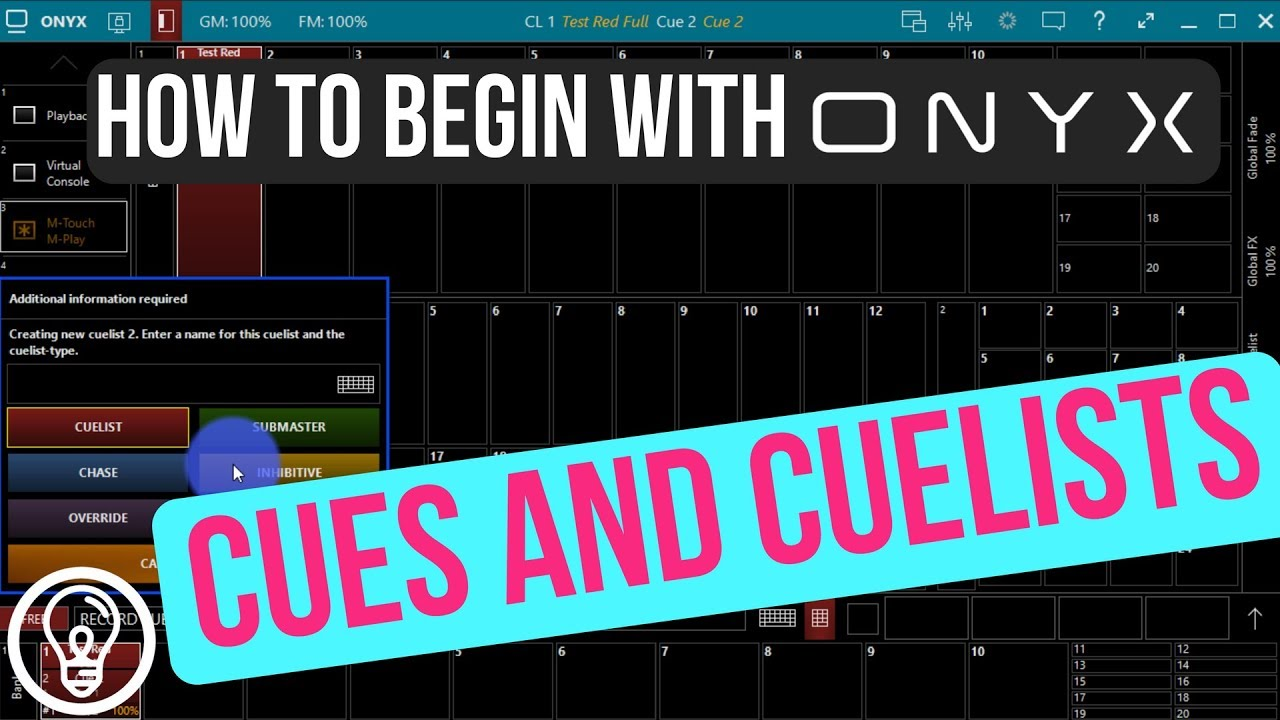 Onyx Video Training Tutorials – Learn Stage Lighting  com